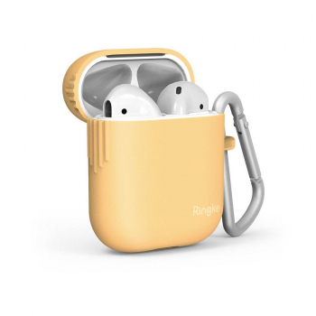 Ringke AirPods case Honey Mustard
