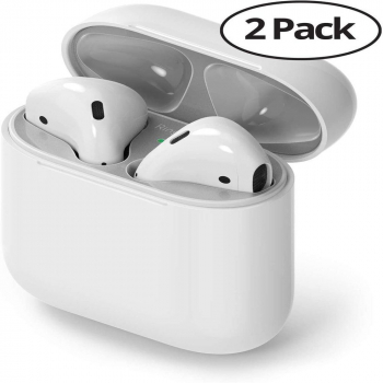Ringke AirPods / Airpods 2 Dust Guard Sticker (2pack) Silver