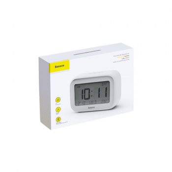 Baseus Home Subai Clock with extra AAA battery White (ACLK-A02)