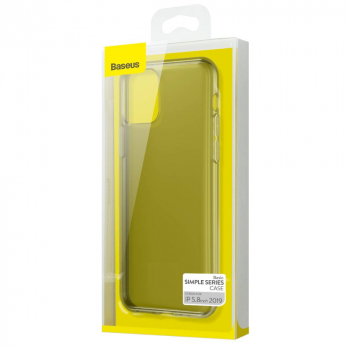 Baseus iPhone 11 Pro case Simplicity Series (basic model) Transparent Black (ARAPIPH58S-01)