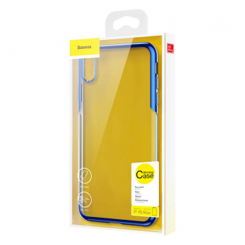 Baseus iPhone Xs Max case Shining Blue (ARAPIPH65-MD03)