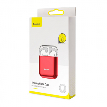 Baseus Airpods 2/1 case Shining hook Red (ARAPPOD-A09)