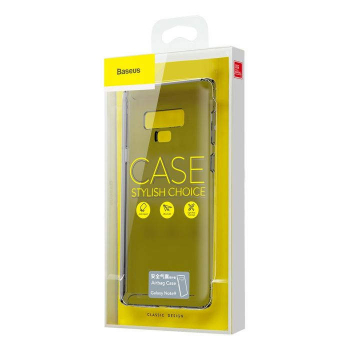 Baseus Samsung Note 9 case Safety Airbags Transparent Black (ARSANOTE9-SF01)