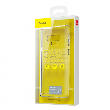 Baseus Samsung Note 9 case Safety Airbags Transparent (ARSANOTE9-SF02)