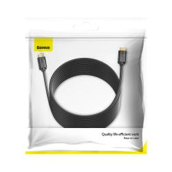 Baseus Video Cable High definition Series HDMI To 4K HDMI 10m Black (CAKGQ-F01)