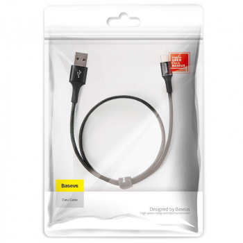 Baseus Type-C Halo data Cable 3A 0.5m Black (CATGH-A01)