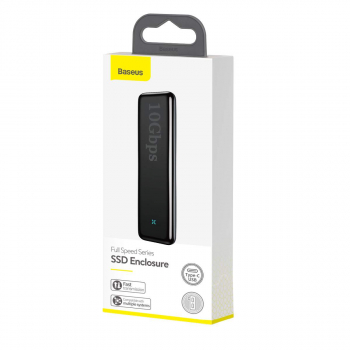 Baseus HUB Hard Disk Case Full Speed Series SSD Enclosure (Type-C - GEN2) Space Gray (CAYPH-F0G)