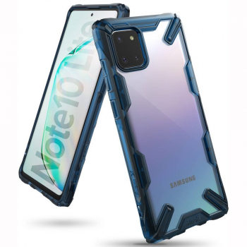 Ringke Galaxy Note 10 Lite Case Fusion X Space Blue