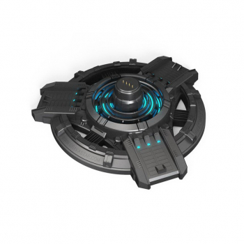 Gravastar G1 Mars charging base with Type-C cable Black EU