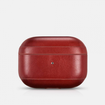 iCarer Apple Airpods Pro Case Vintage Leather Classic Style Red