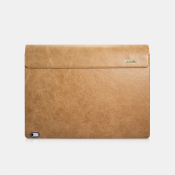 iCarer Microsoft Surface Book Case Shenzhou Genuine Leather Brown