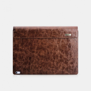 iCarer Microsoft Surface Book 2 Case Vintage Genuine Leather Coffee