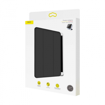 Baseus iPad 12.9 Pro Simplism Y-Type Leather case Black (LTAPIPD-BSM01)