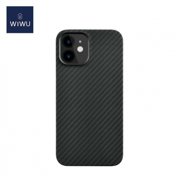 WiWU iPhone 12 mini case Kevlar Armor Black