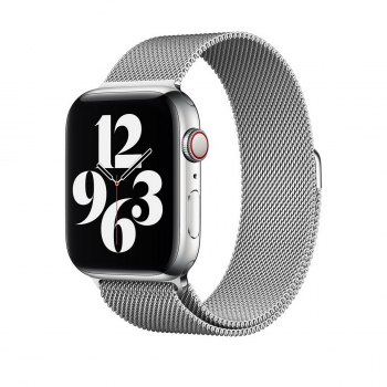 WiWU Apple Watchband 38 mm/40 mm, Minalo Stainless Steel, Silver
