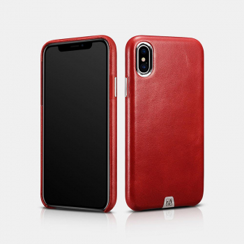 iCarer iPhone X/XS Case Transformer Vintage Series Red
