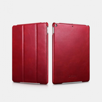 iCarer iPad Air 10.5 Case Leather Vintage Series Red