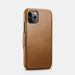 iCarer iPhone 11 Pro Max (6.5) Case Vintage Series Side-open Brown