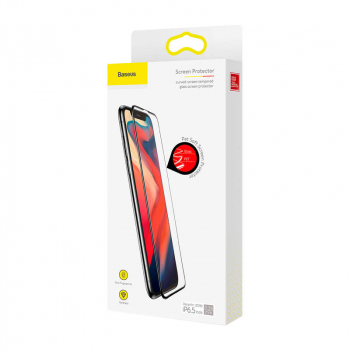 Baseus iPhone Xs Max 0.23 mm curved-screen T-Glass with crack-resistant edges SGAPIPH65-PE01