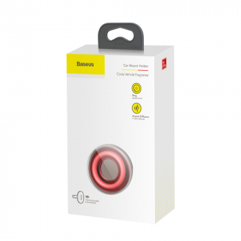 Baseus Fragrance Car Circle Vehicle Red (SUXUN-QQ09)