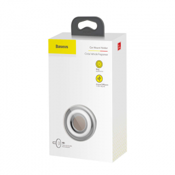 Baseus Fragrance Car Circle Vehicle Silver (SUXUN-QQ0S)