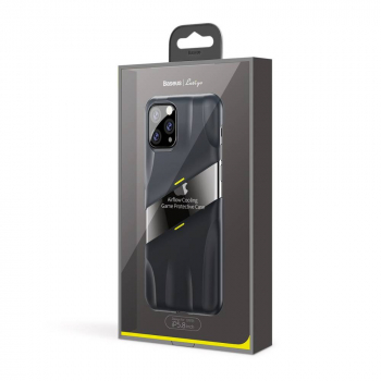 Baseus iPhone 11 Pro case Lets go Airflow Cooling Game Protective Gray/Yellow (WIAPIPH58S-GMGY)