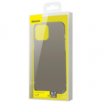 Baseus iPhone 12 Pro Max case Wing Black (WIAPIPH67N-01)