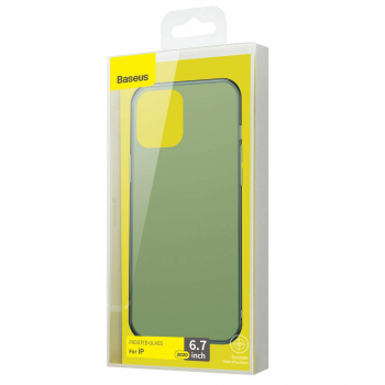 Baseus iPhone 12 Pro Max case Wing Green (WIAPIPH67N-06)