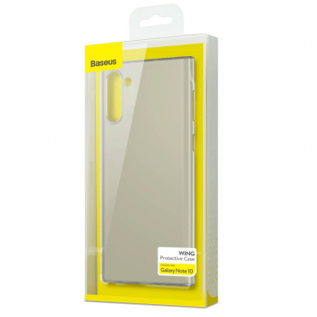 Baseus Samsung Note 10 case Wing, White (WISANOTE10-02)