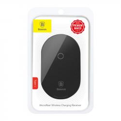 Baseus Wireless Charging Receiver Microfiber (for Type-C) Black (WXTE-B01)
