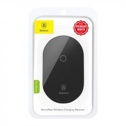 Baseus Wireless Charging Receiver Microfiber (for Micro) Black (WXTE-C01)
